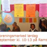 HUSK Foreningsmarked lørdag d. 30. september kl. 10-13 på Ramsherred